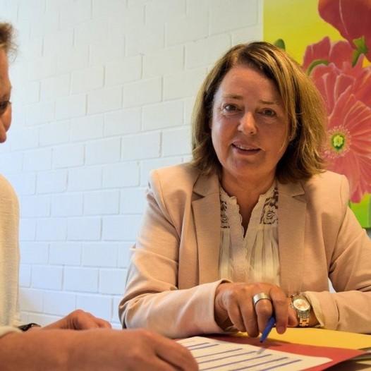 Grußworte unserer neuen Schulleiterin Frau Stuckenberg