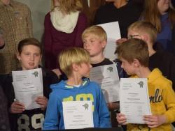 """Preisverleihung """"Schule mit Köpfchen"""""""