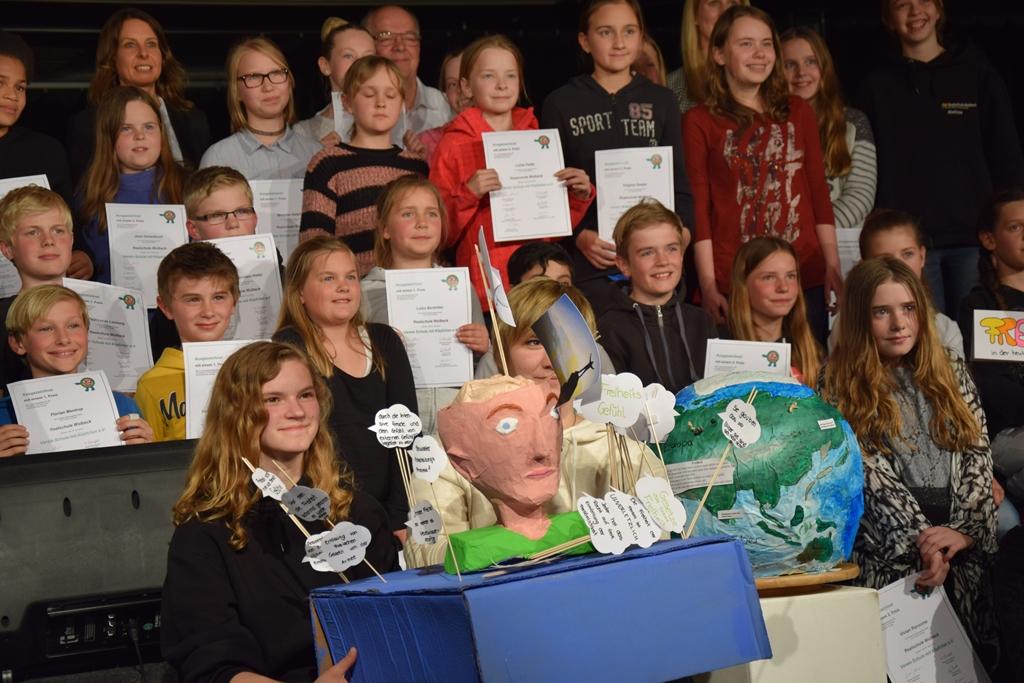 Wettbewerb Schule mit Köpfchen – Thema Zukunft