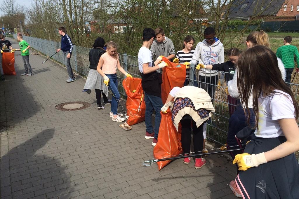 SV organisiert Aktion sauberes Münster