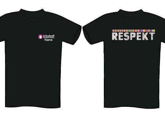 RESPEKT. Schülerfirmen verkaufen T-Shirts und Hoodies