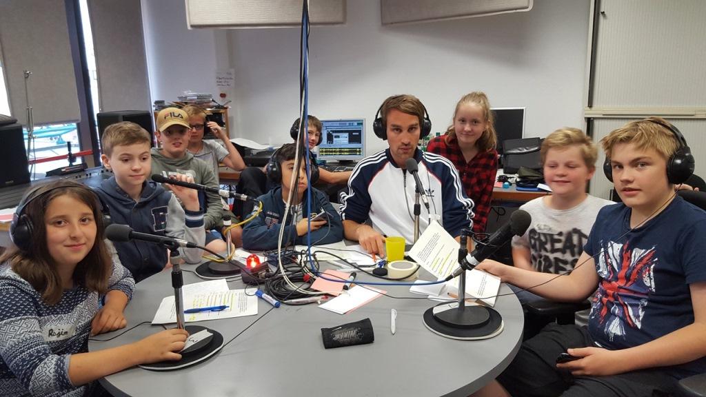 Aufnahme läuft! SchülerInnen machen Radio. Sendung am 22. Juli auf Radio AM