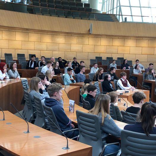Zu Besuch im Landtag NRW