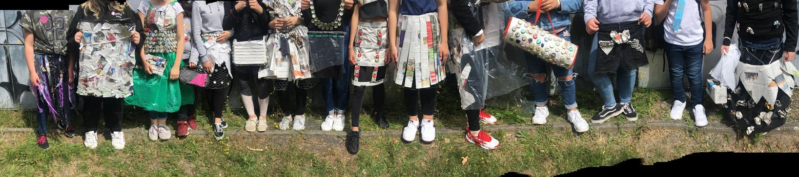 Projekttage 2019 – Mode aus Müll