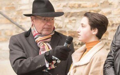 Gedenkfeier zur Erinnerung an den Holocaust