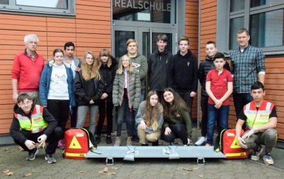 14 neue Schulsanitäter für die Realschule Wolbeck
