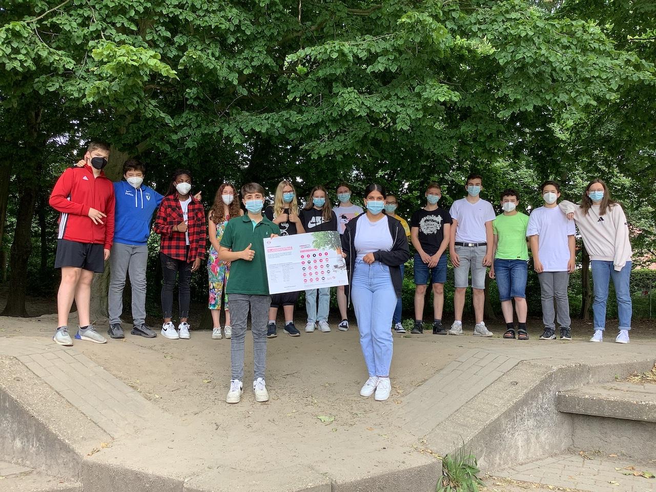 Saubere Lungen – volle Klassenkasse!