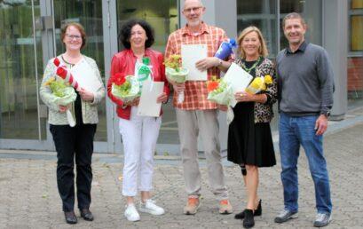 110 Jahre Erfahrung – Realschule Wolbeck verabschiedet 4 Lehrkräfte in den Ruhestand